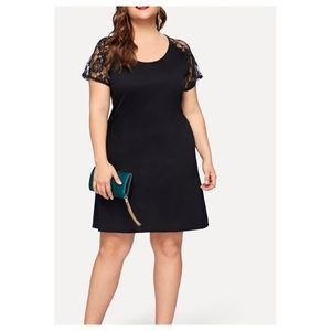 Dresses & Skirts - ➕Contrast Lace LBD